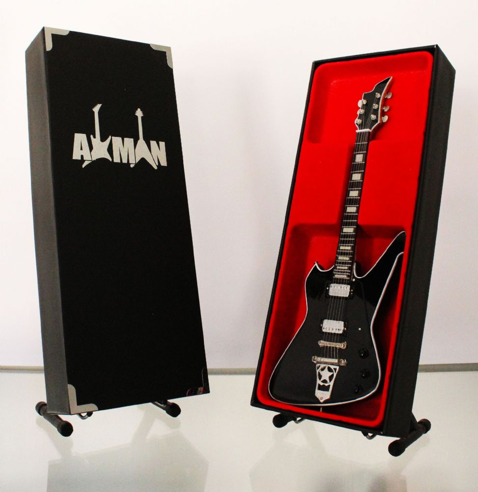(Kiss) Paul Stanley: Washburn PS-500 - Miniature Guitar Replica (UK Seller)